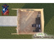 Log Cabin Downham 4m x 4m 004