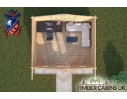 Log Cabin Downholland 5m x 4m 004