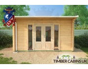 Log Cabin Dudley 4.5m x 4m 004