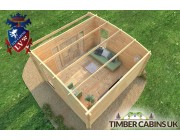 Log Cabin Dudley 4.5m x 4m 005