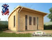 Log Cabin Dudley 4.5m x 4m 002