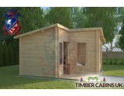 Log Cabin Dunsop Bridge 4m x 4m 001