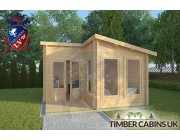 Log Cabin Dunsop Bridge 4m x 4m 003