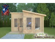 Log Cabin Dunsop Bridge 4m x 4m 004