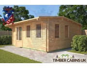 Log Cabin East Dunbartonshire 5m x 5m 002