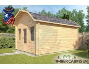 Log Cabin East Hampshire 3.5m x 4.5m 002