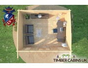 Log Cabin East Riding 5m x 4m 007