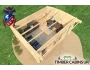 Log Cabin East Riding 5m x 4m 006