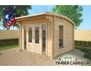 Log Cabin Edinburgh 3.5m x 3m 002