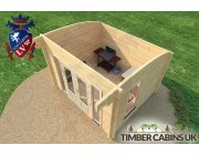 Log Cabin Edinburgh 3.5m x 3m 005