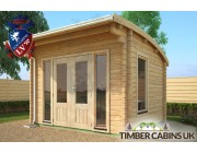 Log Cabin Edinburgh 3.5m x 3m 003