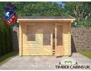 Log Cabin Erewash 2.95m x 1.75m 003