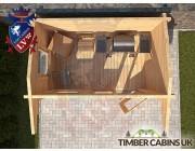 Log Cabin Erewash 2.95m x 1.75m 004