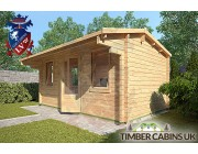Log Cabin Exeter 4.75m x 2.95m 002