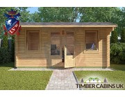 Log Cabin Exeter 4.75m x 2.95m 003
