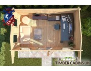 Log Cabin Exeter 4.75m x 2.95m 004