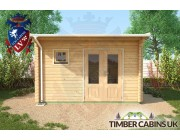 Log Cabin Fife 4m x 3m 005