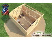 Log Cabin Fife 4m x 3m 006