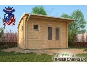Log Cabin Fife 4m x 3m 002