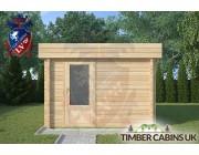 Log Cabin Fleetwood 3m x 2m 003