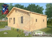 Log Cabin Fleetwood 7.7m x 4.5m 002