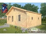 Log Cabin Fleetwood 7.7m x 4.5m 002