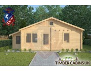 Log Cabin Fleetwood 7.7m x 4.5m 003