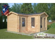 Log Cabin Forest of Bowland 4m x 4m 001