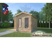 Log Cabin Forest of Bowland 4m x 4m 002