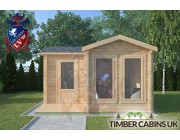 Log Cabin Forest of Bowland 4m x 4m 003