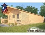 Log Cabin Forest of Bowland 5m x 12m 002
