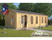 Log Cabin Garstang 8.5m x 3.5m 001