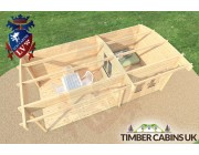 Log Cabin Gateshead 6m x 3m 005