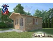 Log Cabin Gisburn 4m x 4m 002