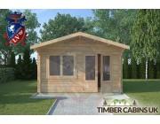 Log Cabin Gisburn 4m x 4m 003