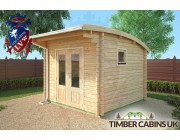 Log Cabin Glasgow 3m x 3m 002