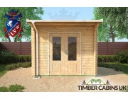 Log Cabin Glasgow 3m x 3m 003
