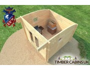 Log Cabin Glasgow 3m x 3m 004