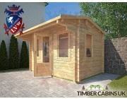 Log Cabin Gloucester 3.55m x 2.35m 002
