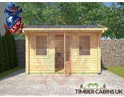 Log Cabin Gloucester 3.55m x 2.35m 003
