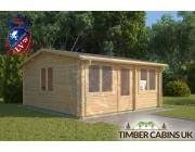 Log Cabin Great Altcar 5.5m x 5m 001