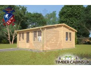 Log Cabin Great Altcar 5.5m x 5m 002