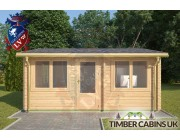 Log Cabin Great Altcar 5.5m x 5m 003