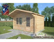 Log Cabin Grindleton 4m x 3m 002
