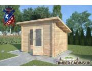 Log Cabin Heywood 3m x 2.5m 002