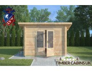 Log Cabin Heywood 3m x 2.5m 003