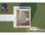 Log Cabin Heywood 3m x 2.5m 004