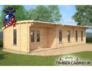 Log Cabin Highland 10.5m x 4m 002