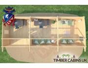 Log Cabin Highland 10.5m x 4m 006