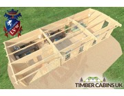 Log Cabin Highland 10.5m x 4m 005